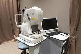 3次元眼底像撮影装置(angio付)(OCT)